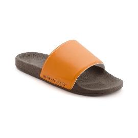 Ciabatta in plastica 180 - Arancio 54 + Testa di Moro 29