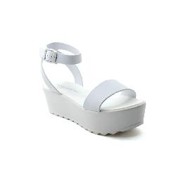 Platic sandal Grace Cinturino White