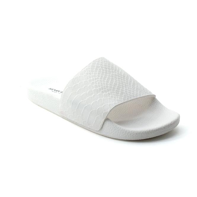 Ciabatta in plastica 180 - Bianco + Crotalo bianco