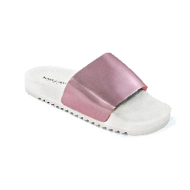 Pool Slider 190 - White + Pink mirror