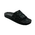 Pool Slider 190 - Black + Black Glitter