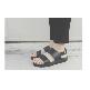 Plastic sandal Amanda Fascia Black