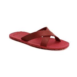Plastic Slipper Cross Red 16