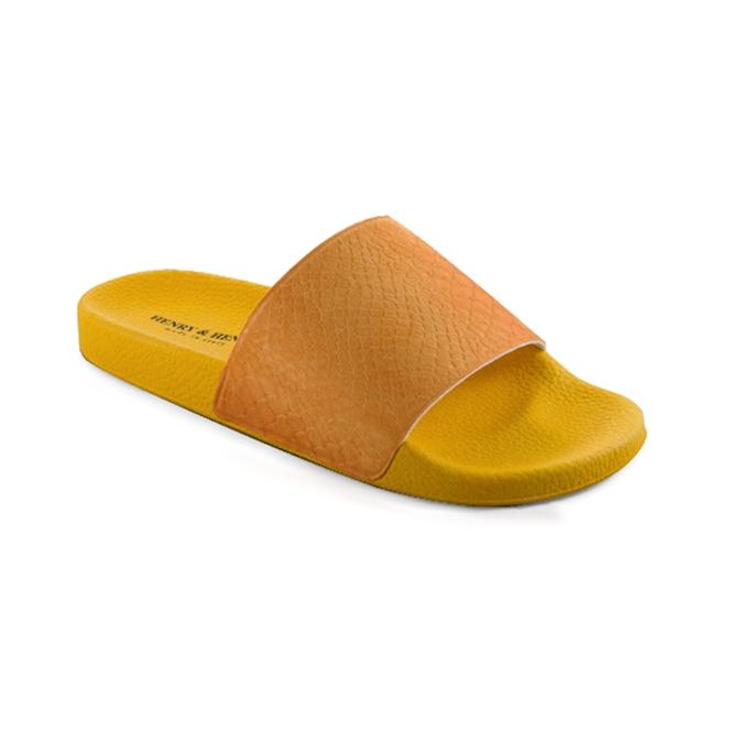 Pool slider 180 - Orange 54 + Paprika Crotalo