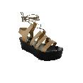 Plastic Sandal Wedge Grace Clio - Copper 49