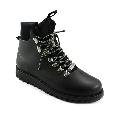 Plastic boots Victor - Black + Black/Black/Black-Grey