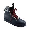 Plastic boots Victor - Navy 28 + Black/White Wool-Black-Bordeaux