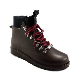 Plastic boots Victor - Brown 29 + Black/Black/Bordeaux