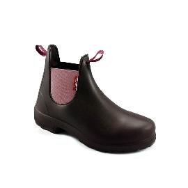 Ben - Brown + Pink/Bordeaux