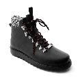 Plastic boots Victor - Black + Black-White/Black/Black-Orange