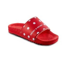 Pool Slider 190 - Red 17 + White Pois