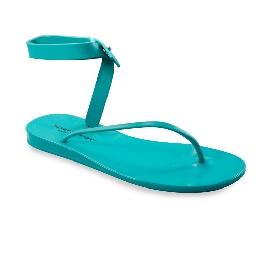 Sandalo infradito in plastica Santorini Azzurro 68