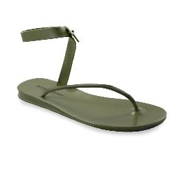 Sandalo infradito in plastica Santorini Verde 51