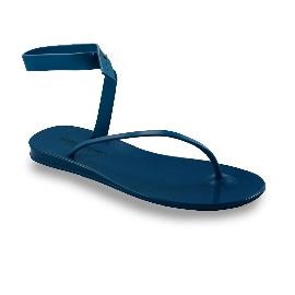Sandalo infradito in plastica Santorini Petrolio 11