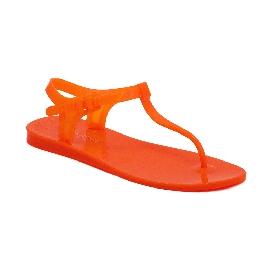 Sandalo infradito in plastica Athena - Arancio fluo 37