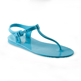 Sandalo infradito in plastica Athena - Azzurro 32