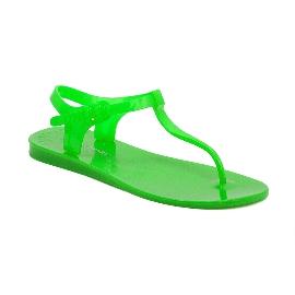 Sandalo infradito in plastica Athena - Verde fluo 36