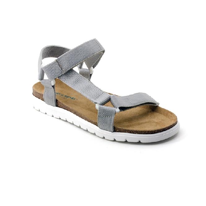 Plastic Sandal Cesare Claude - Grey