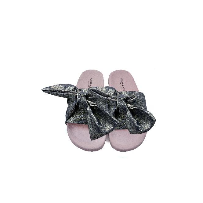 Ciabatta in plastica 180 - Nastro Rosa
