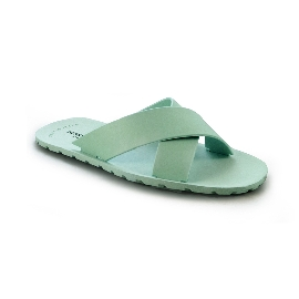 Plastic Slipper Cross Mint Green 75