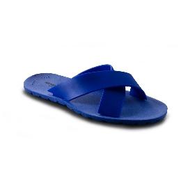 Plastic Slipper Cross Blue Royal 22