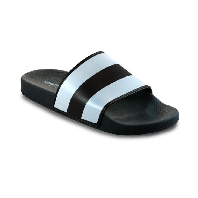 Pool slider 180 - Green 76 + White Stripes