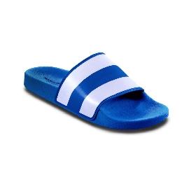 Pool slider 180 - Blue 50 + White Stripes