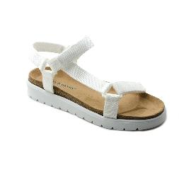 Plastic sandal Amanda Claude - White
