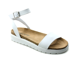 Plastic sandal Amanda Cinturino - White