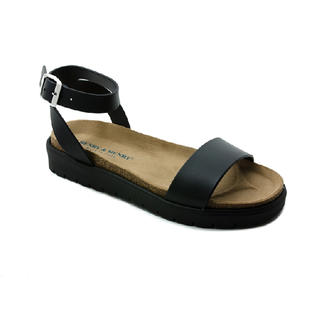 Plastic sandal Amanda Cinturino - Black