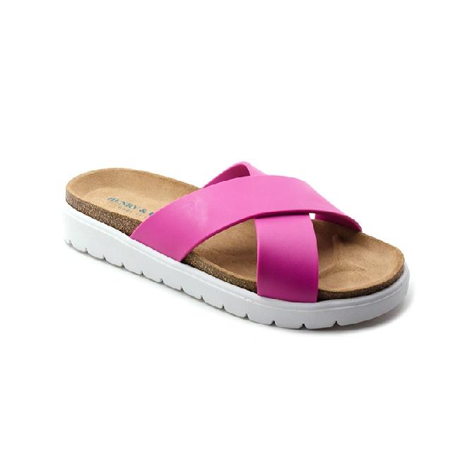 Plastic sandal Amanda Cross - Orange 54