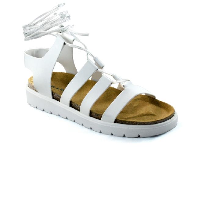 Plastic sandal Amanda Clio - White