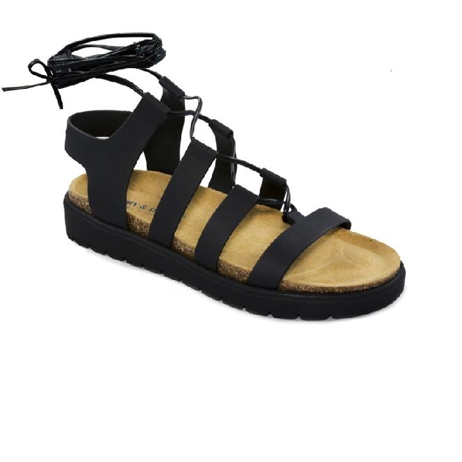 Plastic sandal Amanda Clio - Black