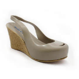 Plastic Wedge Cocò Grey 58