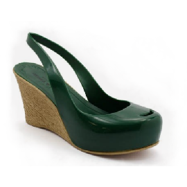 Plastic Wedge Cocò Green 47