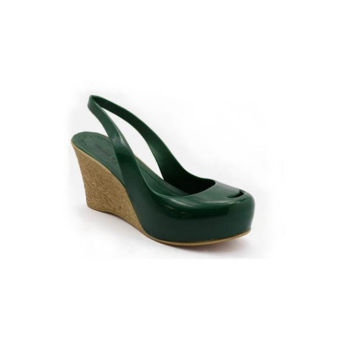 Plastic Wedge Cocò Green 47