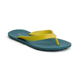 Plastic Slipper Flipper - Avio Blue 57 + Green 56