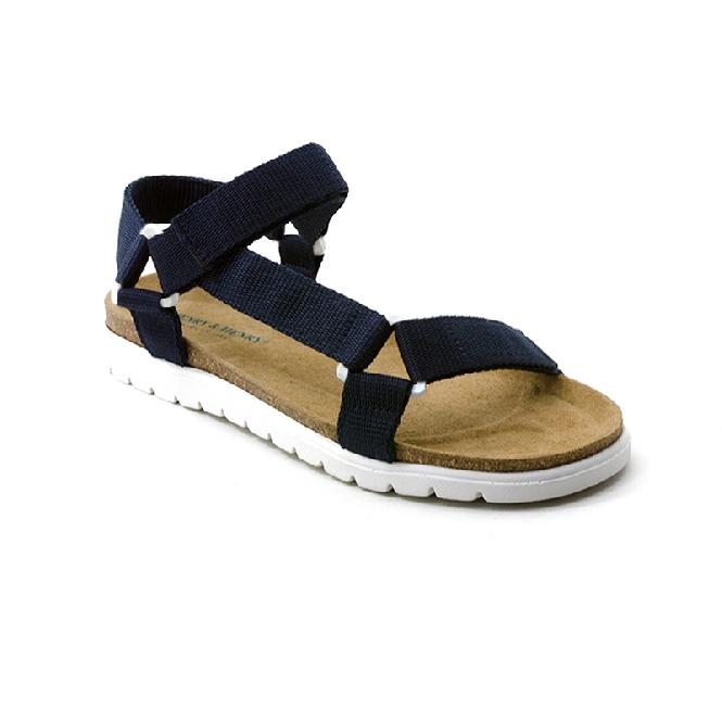 Plastic Sandal Cesare Claude - Navy