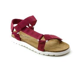 Plastic Sandal Cesare Claude - Bordeaux