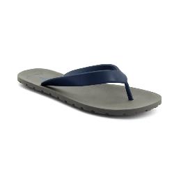 Plastic Slipper Flipper - Grey 27 + Blue 60