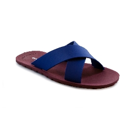 Plastic Slipper Cross Red 48 + Navy 28