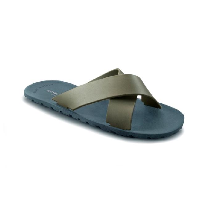 Plastic Slipper Cross Avio Blue 57 + Nickel 33