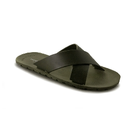Plastic Slipper Cross Green 10