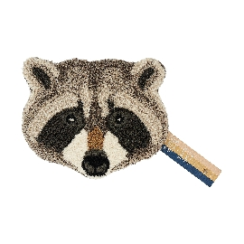 Racoon Head Carpet
