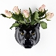 Panther Wall Flower Vase