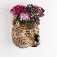 Zebra Wall Flower Vase