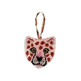 Pink Leopard Head Gift Hanger