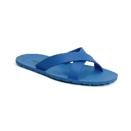 Plastic Slipper Cross Light Blue 50 Thinner Upper