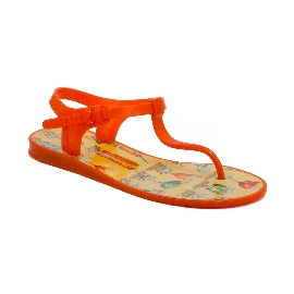 Plastic Sandal Athena Orange 2 + Cocktail