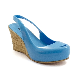 Plastic Wedge Cocò Light blue 12